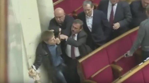 Гончаренко побився з нардепами від