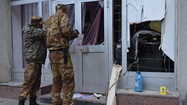 Неизвестные взорвали банкомат