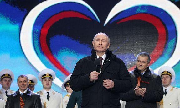 Путин в Крыму
