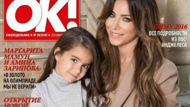 5-летняя София похожа на маму