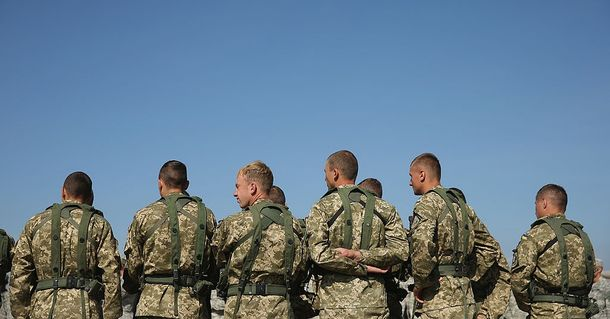 Військові на навчанні