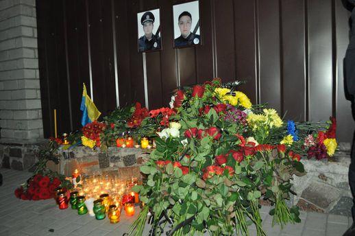 Загибла поліцейська Ольга Макаренко