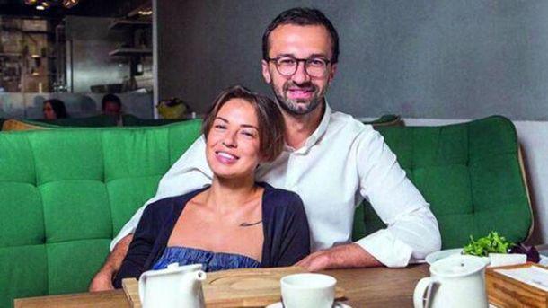 Сергій Лещенко з дівчиною