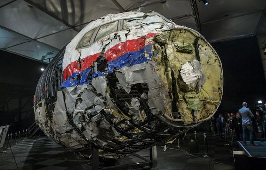 Збитий Boeing 777