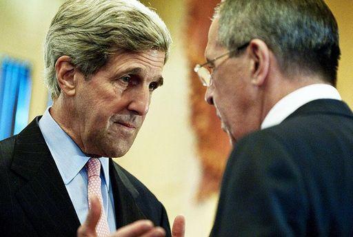 Держсекретар США Джон Керрі та глава МЗС РФ Сергій Лавров