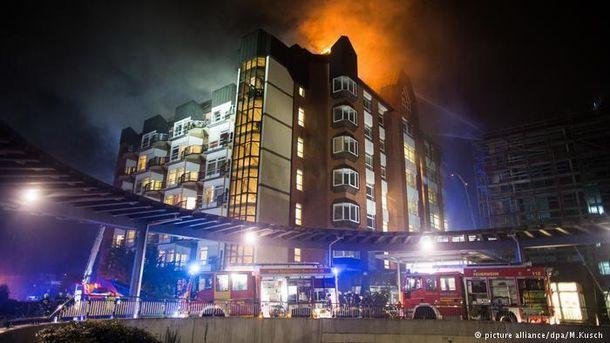 Пожежа у лікарні