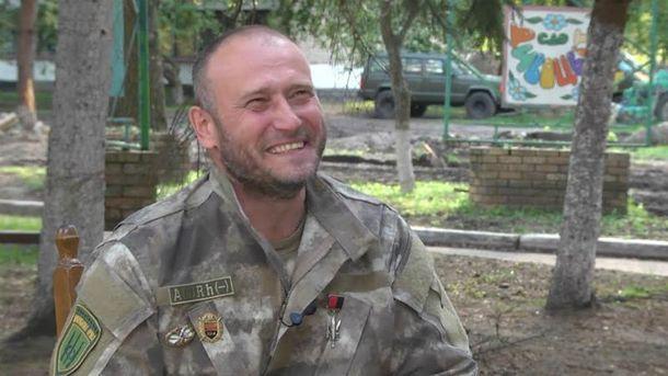 Дмитрий Ярош празднует 45 лет