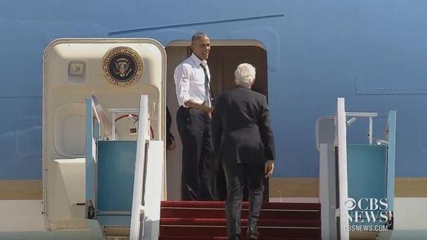 Обамі не терпілось повернутись додому