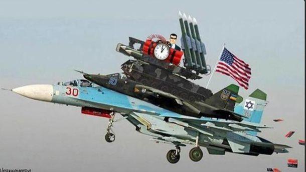 Карикатура на російські ЗМІ щодо МН17