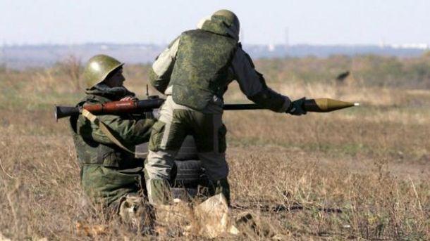 Після розведення військ бойовики відкрили вогонь з гранатометів