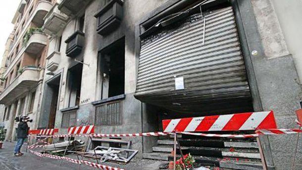 Произошел взрыв в баре в Милане