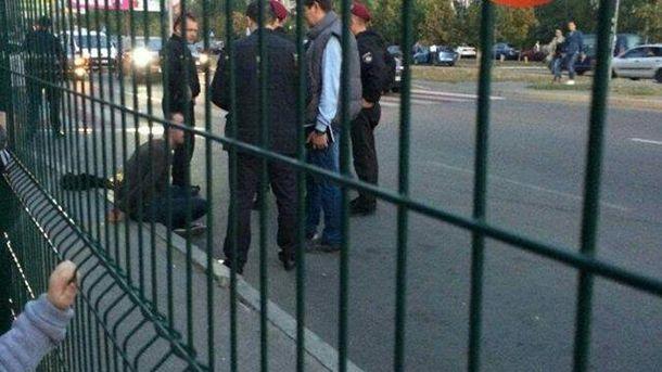 Затримали стрілка у Києві
