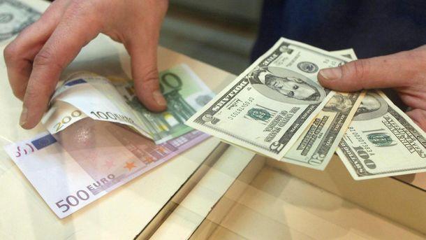 Доллары и евро