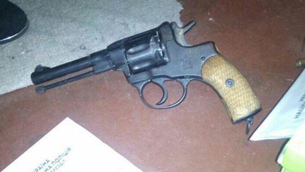 Зброя, з якої стріляли по мешканцям Києва