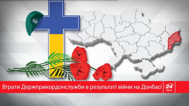На Донбассе погибло 65 сотрудников Госпогранслужбы