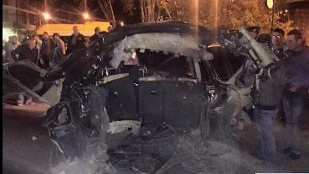 УТбілісі підірвали машину одного з лідерів партії Саакашвілі