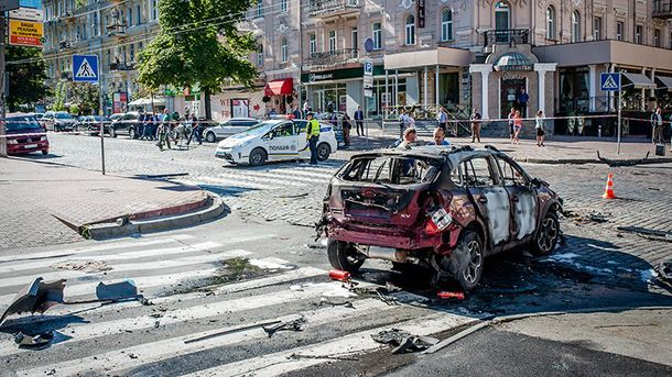 Павла Шеремета убили утром 20 июля в центре Киева