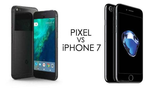 Google Pixel vs iPhone7