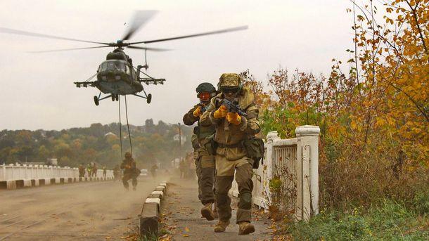 Как тренируются десантники из 25 бригады