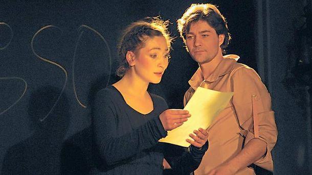 Євген Нищук з дружиною