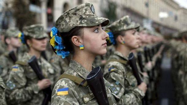 Женщины в армии теперь не редкость