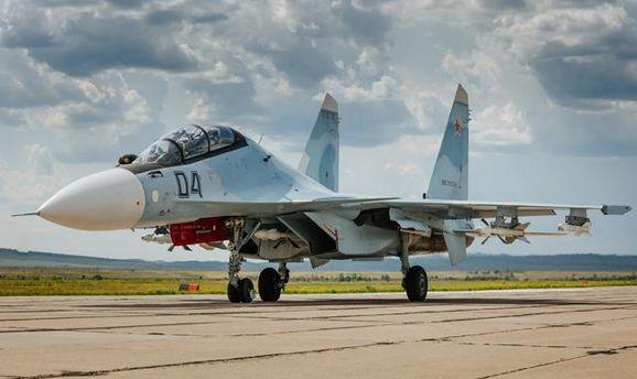 Винищувач Су-30СМ