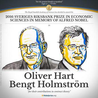 Олівер Харт і Бенгт Хольмстрьом
