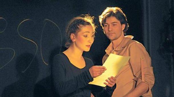 Оксана с Евгением играли в одном театре