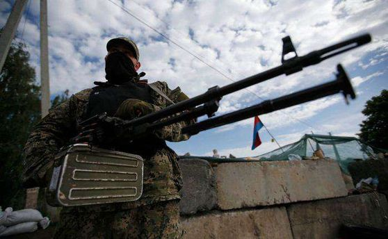 Террористы на Донбассе продолжают обстреливать украинские позиции