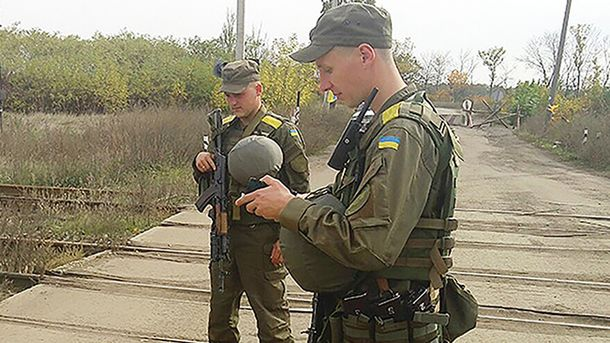 Нацгвардия защищает Украину от террористов