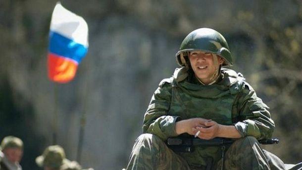 Российский солдат (иллюстрация)