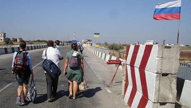 Граница Украины с Крымом