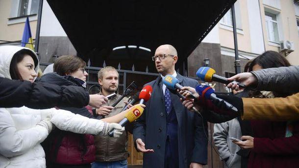 Арсеній Яценюк дав свідчення у справі щодо злочинів проти Майдану