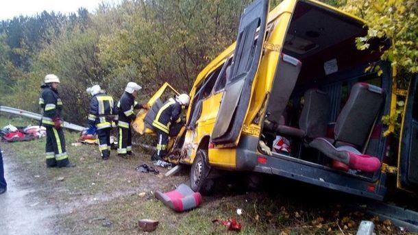 Авария в Хмельницкой области произошла на проблемном участке дороги