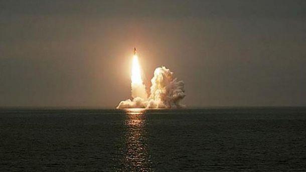 Росія за один день запустила три балістичні ракети