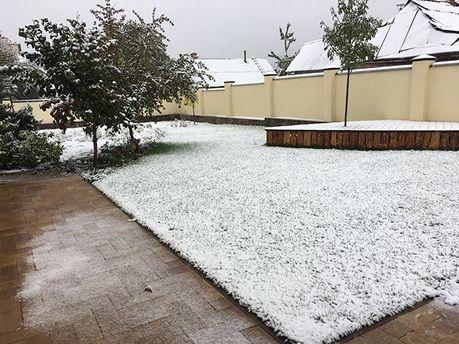 Сніг у Вінниці