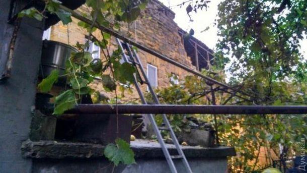 В Одесі завалився будинок
