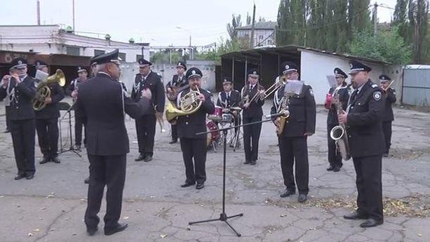 Оркестр полиции Киева