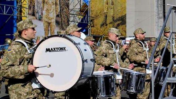 Военный оркестр в Киеве