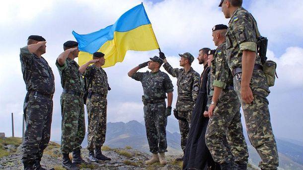 Українські солдати