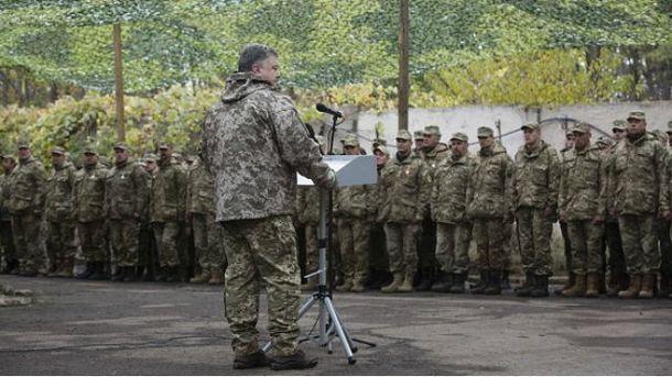 Порошенко під час візиту на Харківщину