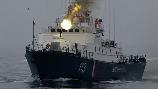 Корабель прикордоннної служби ФСБ РФ