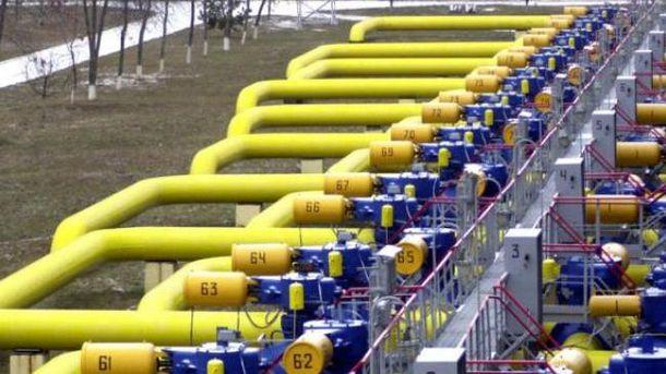 Украинское газохранилище