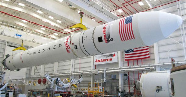 Ракетоносій Antares OA-5 із супутником Cygnus і українським двигуном