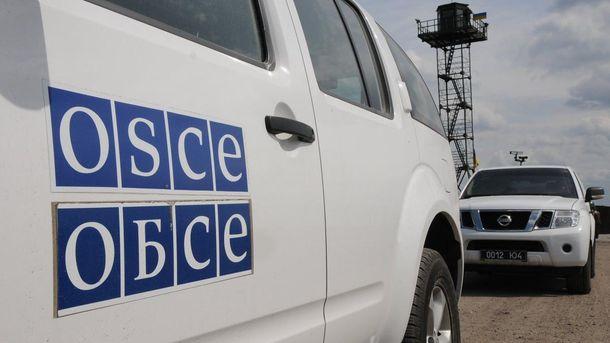 Місії ОБСЄ заважають міни