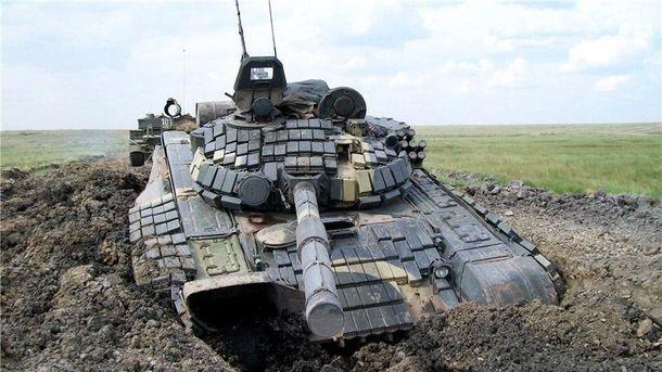 Оккупанты получили российские Т-72