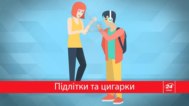 Скільки молодих українців палять?