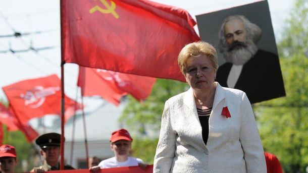 Екс-комуністка Алла Александровська