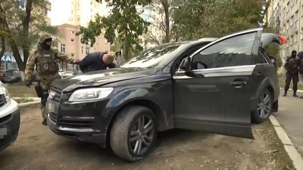 Затримання зловмисників на Одещині
