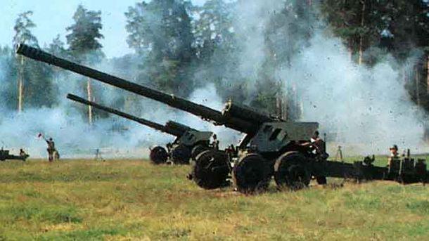 Враги стреляли из 152 калибра